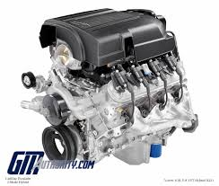 general motors engine guide specs