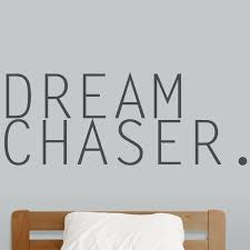 Sweetumswalldecals Dream Chaser Wall Decal Wayfair