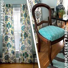 dry fabric vs upholstery fabric