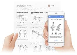 workout builder calendar features