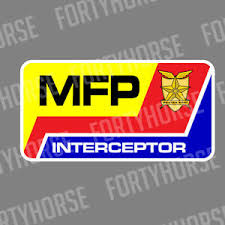 Vinyl Stickers Mad Max Mfp Interceptor Ebay