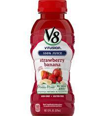 v8 v fusion strawberry banana