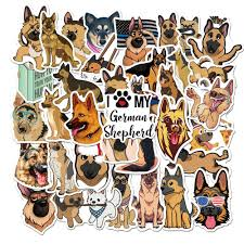 2020 Car Stickers German Shepherd Dog For Skateboard Laptop Pad Bicycle Motorcycle Ps4 Phone Luggage Decal Pvc Guitar Fridge Stickers From Dreamer1995 1 72 Dhgate Com