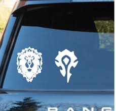 World Of Warcraft Alliance Or Horde By Wastedtalentdesigns On Etsy 3 00 World Of Warcraft Warcraft World