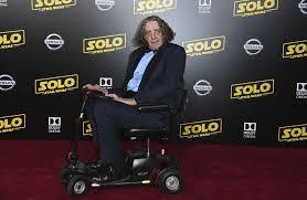 Actor Peter Mayhew, Chewbacca in 'Star Wars' saga, dead at 74