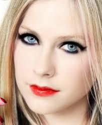 avril lavigne eyes makeup cat eye makeup