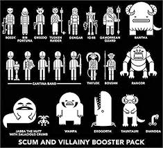 Amazon Com Scum Villainy Family Car Decals 22 Piece Star Wars Toys Games