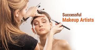 five most successful makeup artists