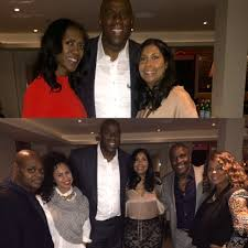 "Earvin Magic Johnson on Twitter: "".@cjbycookie and I with our ..."