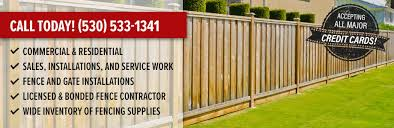 Fence Contractor Fencing Supply Store In Oroville Ca