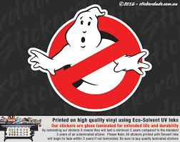Ghostbusters Vinyl Sticker Decal For Car 4x4 Truck Ute Etsy