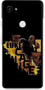 Amazon Com Skinit Decal Phone Skin For Google Pixel 2 Xl Officially Licensed Marvel Disney Defender Luke Cage Design
