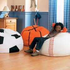 67 Cute Bean Bag Chairs For Kids Roundecor Sports Room Decor Boy Sports Room Decor Sports Themed Room