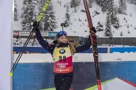 IBU world cup biathlon, sprint women, Hochfilzen (AUT ...