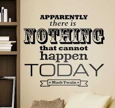 Mark Twain Quote Sticker Tenstickers