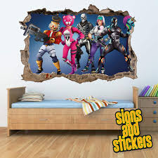 Fortnite Square Wall Break Wall Stickers Buy Online In Guernsey At Desertcart