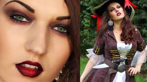 y pirate look makeup hair