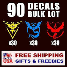 Car Truck Graphics Decals Auto Parts And Vehicles 5 X90 Pokemon Go All Teams Vinyl Decal Stickers Instinct Mystic Valor Gifts Hairli Hr