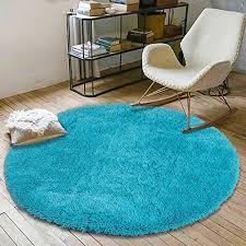 Round Fluffy Soft Area Rugs For Kids Room Children Room Girls Room Nursery