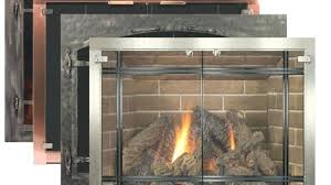 new fireplace glass doors replacement