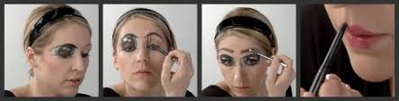 cartoon eyes makeup tutorial for