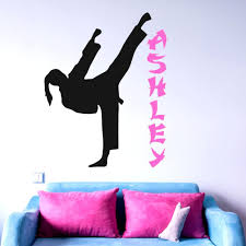 Kids Sports Bedroom Decor Vinyl Room Decorations Gi In 2020 Girls Wall Decals Kids Room Wall Decals Sports Wall Decals