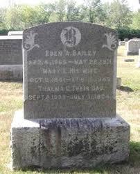 Eben Alberto Bailey (1860-1911) - Find A Grave Memorial