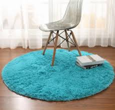 Fluffy Round Rug Carpets For Living Room Decor Faux Fur Carpet Kids Ro Tomigift