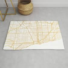 chicago illinois city street map art