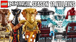 Meet the New LEGO Ninjago Season 11 VILLAIN Minifigures (Official Images)  *Best Villains Ever?!* - YouTube