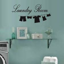Lettering Laundry Room Wall Decal Sticker For Home Decor Wall Window Door Art Ebay