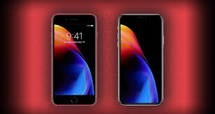 red iphone 8 and iphone 8 plus