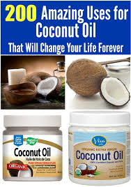 200 brilliant uses for coconut oil that