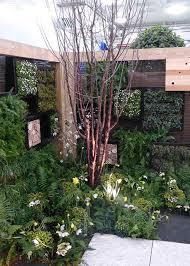 garden design around trees pulan