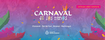 Resultado de imagen de CARNAVALES EN MIRAMAR BUENOS AIRES 2020