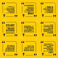set of motivational quotes about leadership helping champion