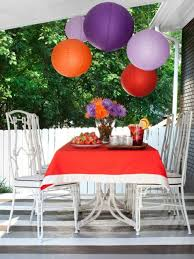 outdoor party decorating ideas food