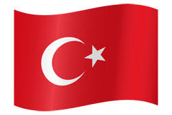 Turkey flag emoji - country flags