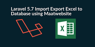 import export excel csv to database