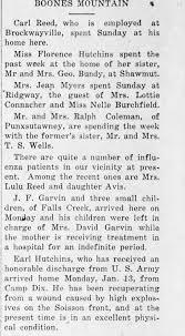 Lulu and Avis Reed had Influenza 30 Jan 1919 - Newspapers.com