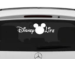 Vinyl Disney Life Car Decal Disney Life Sticker Car Decal Disney Car Decals Disney Car Decals Disney Cars Cars De Disney