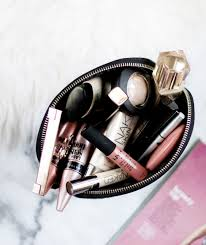 leave your makeup bag in the car