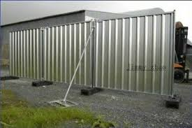 Make Fence Out Of Steel Siding Steel Siding Metal Fence Panels Corrugated Metal Fence