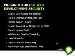 prison theory of webdevelopment security