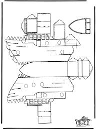 Bouwplaat Boot Knutselen Bouwplaten