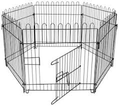 Buy Dog Fence Excercise Play Pen Good For Pups Rabbits For In Or Out 6d B2 Online At Low Prices In India Paytmmall Com