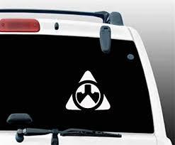 Amazon Com Ytedad Car Decal Stickers Car Decal Car Sticker Triangle Ar15 Decal Vinyl Sticker Window Sticker 13x11cm Home Kitchen
