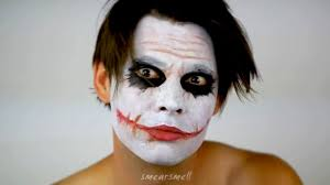 the joker dark knight makeup tutorial