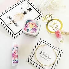 bridesmaid wedding gift box fillers
