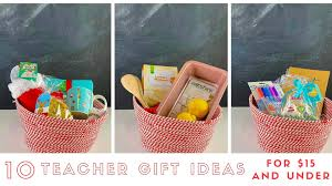 10 teacher gift ideas for 15 ish and
